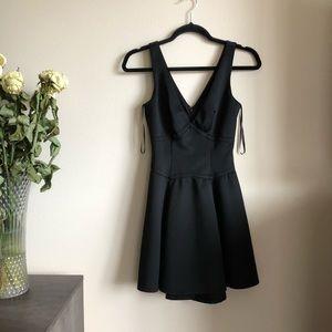 Forever21 Black skater dress